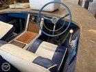 Captains chair and steering wheel