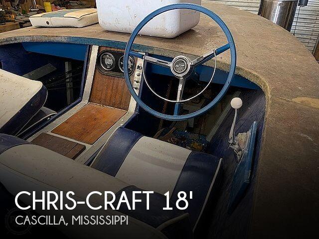 1965 CHRIS CRAFT CAVALIER 18 for sale