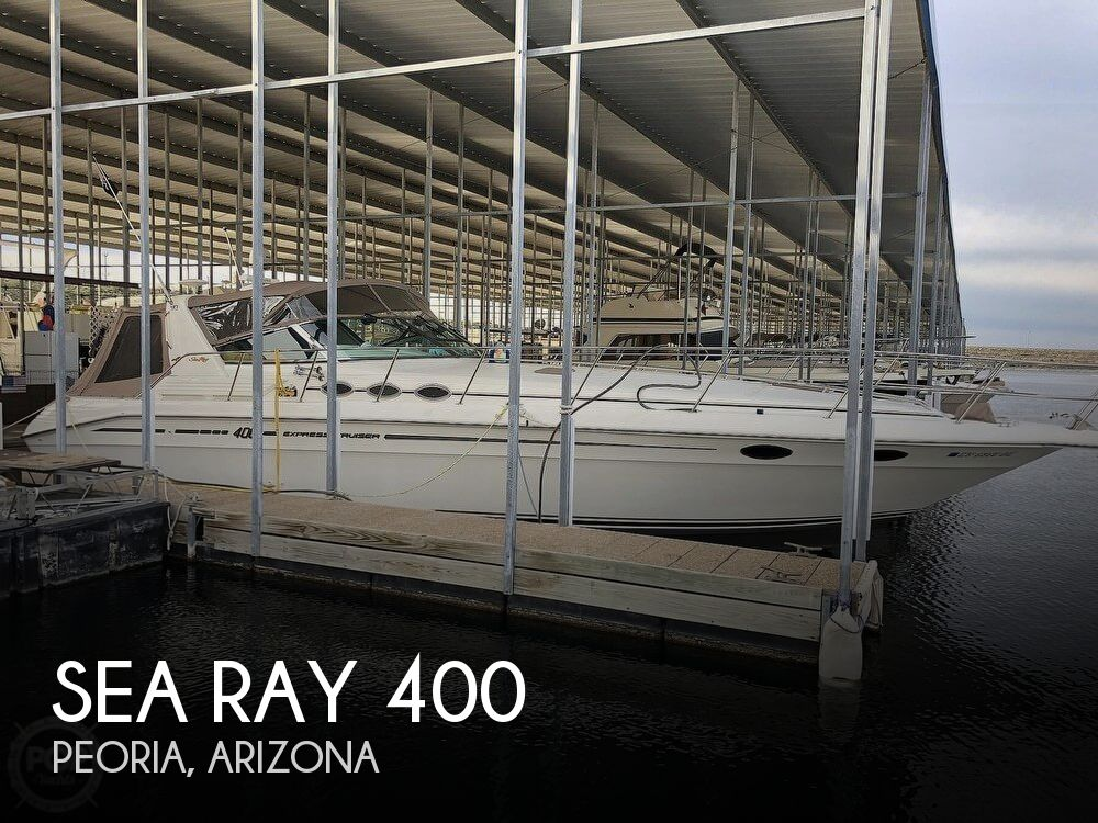 1996 Sea Ray boat for sale, model of the boat is 400 & Image # 1 of 40