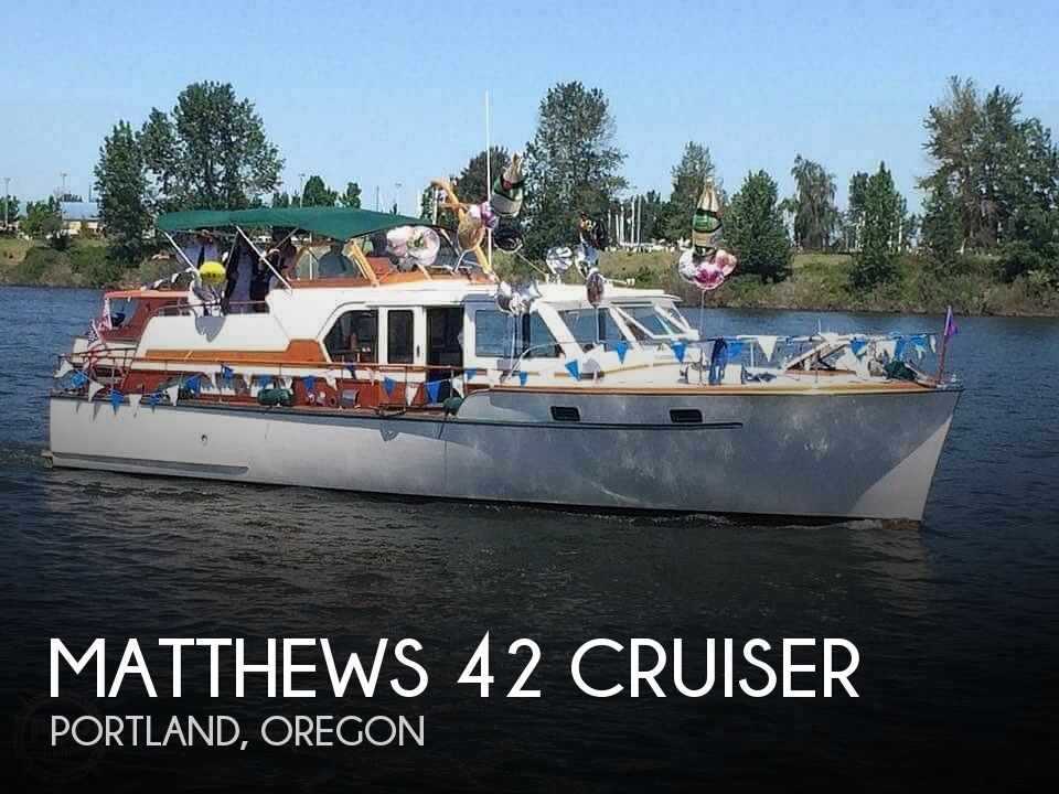 Used Matthews Boats For Sale by owner | 1959 Matthews 42 Cruiser