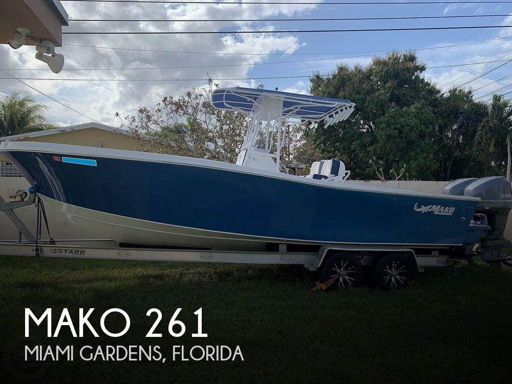 1987 Mako 261