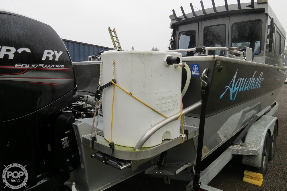 2012 Alumaweld boat for sale, model of the boat is Pacific 27 & Image # 27 of 40