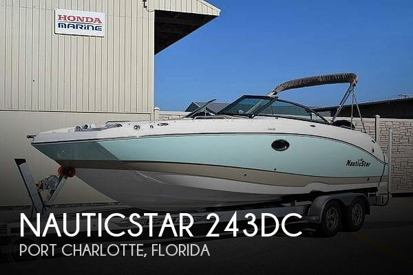 Used NauticStar Deck Boats For Sale in Florida by owner | 2017 NauticStar 243DC
