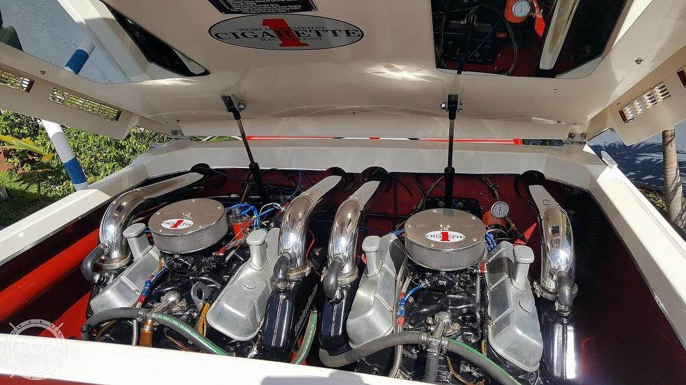 1986 Cigarette boat for sale, model of the boat is 35 Cafe Racer & Image # 3 of 40