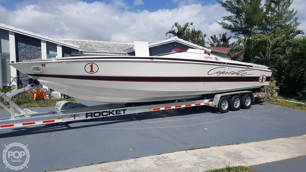 1986 Cigarette boat for sale, model of the boat is 35 Cafe Racer & Image # 8 of 40