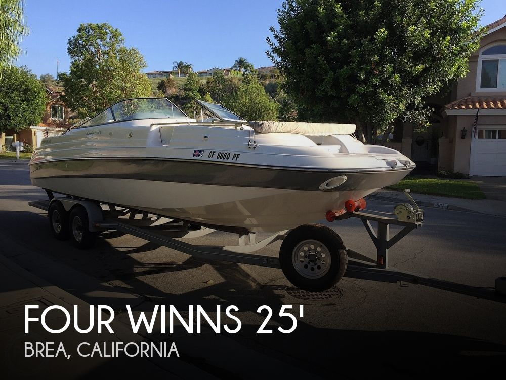 Used Four Winns Boats For Sale in California by owner | 2000 Four Winns 254 Funship