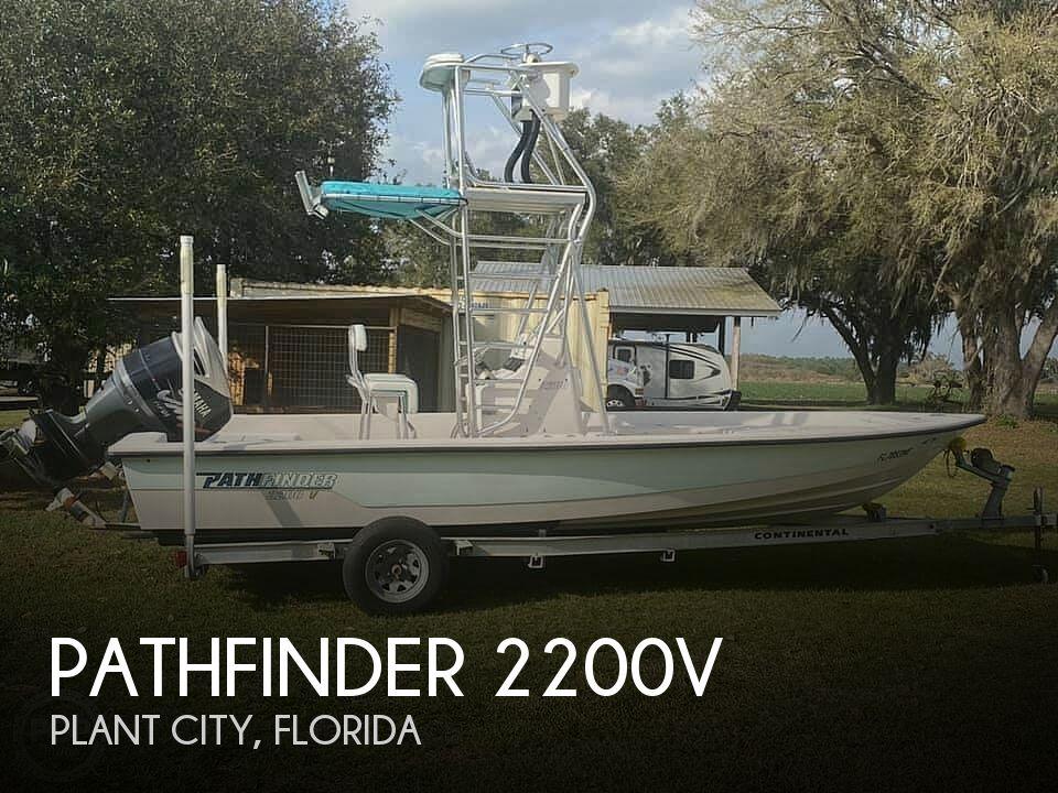 Used Pathfinder Boats For Sale by owner   2003 Pathfinder 2200v