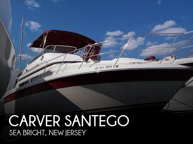 Used Carver Santego Boats For Sale by owner | 1989 34 foot Carver Santego