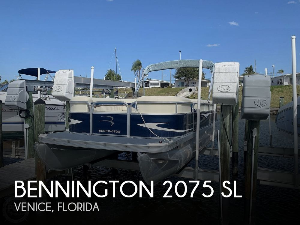 Used Pontoon Boats For Sale by owner | 2009 Bennington 2075 SL