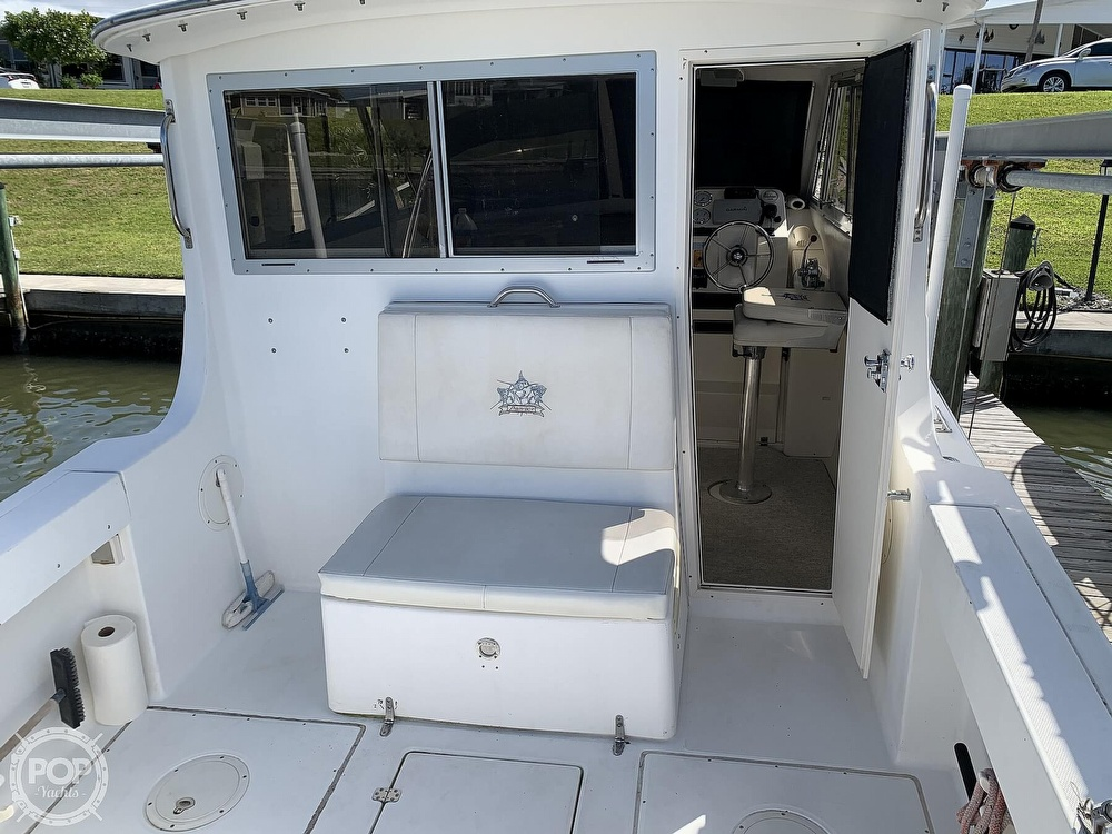2001 Shamrock boat for sale, model of the boat is Mackinaw 270 & Image # 12 of 40