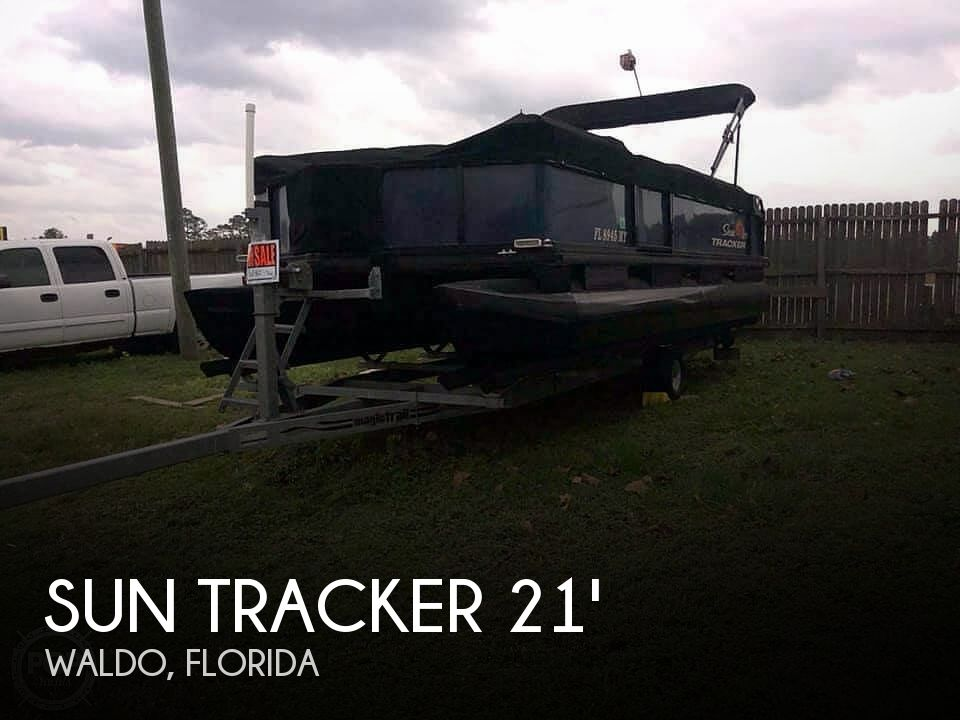 Used Sun Tracker Pontoon Boats For Sale in Florida by owner | 1992 Sun Tracker 21 Party Barge