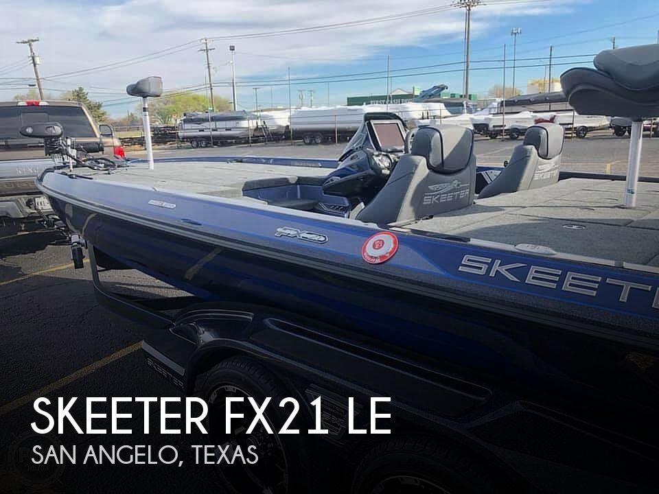 Used Skeeter Boats For Sale by owner | 2018 Skeeter Fx21 Le