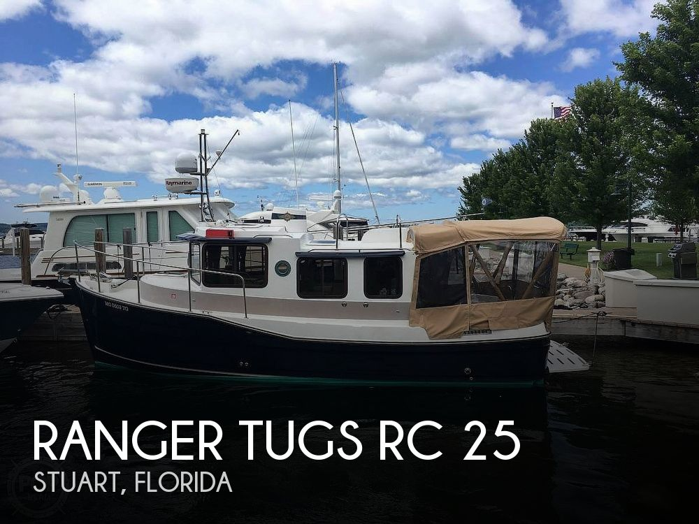 Used Boats For Sale in Palm Bay, Florida by owner | 2009 Ranger Tugs 25