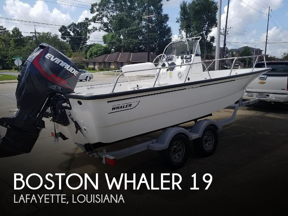 Used Boston Whaler 19 Boats For Sale by owner | 2015 Boston Whaler 19