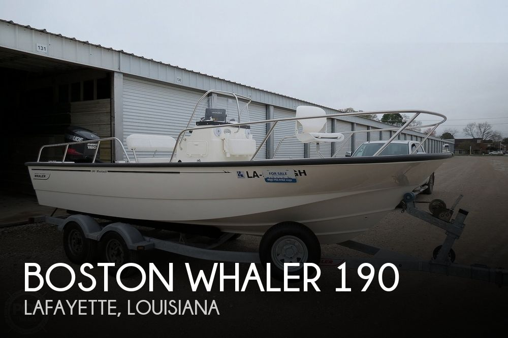 2015 Boston Whaler boat for sale, model of the boat is 190 Montauk & Image # 1 of 41