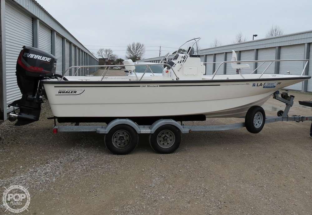 2015 Boston Whaler boat for sale, model of the boat is 190 Montauk & Image # 2 of 40