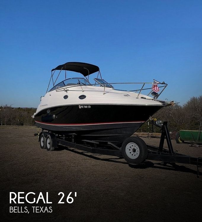 Used Regal Boats For Sale in Texas by owner | 2005 Regal 26