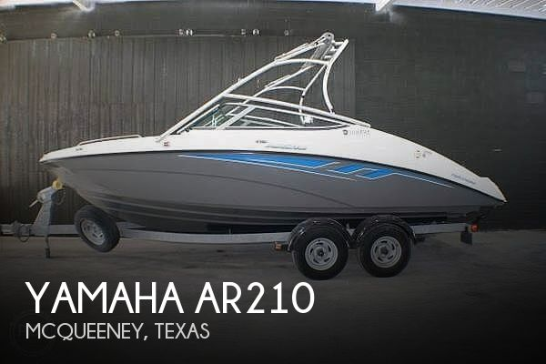 Used Yamaha Boats For Sale in Texas by owner | 2015 Yamaha AR210