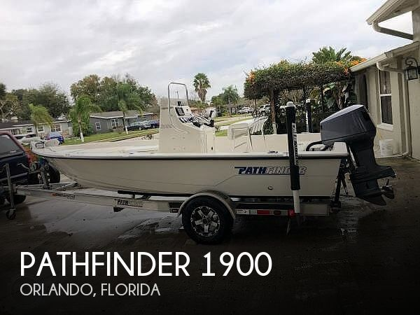 2000 Pathfinder boat for sale, model of the boat is 1900 & Image # 1 of 26