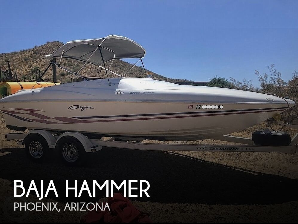 1998 Baja boat for sale, model of the boat is Hammer & Image # 1 of 40