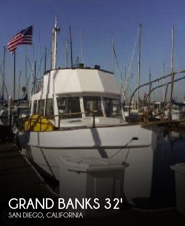 Used GRAND BANKS Boats For Sale by owner | 1968 32 foot Grand Banks Trawler