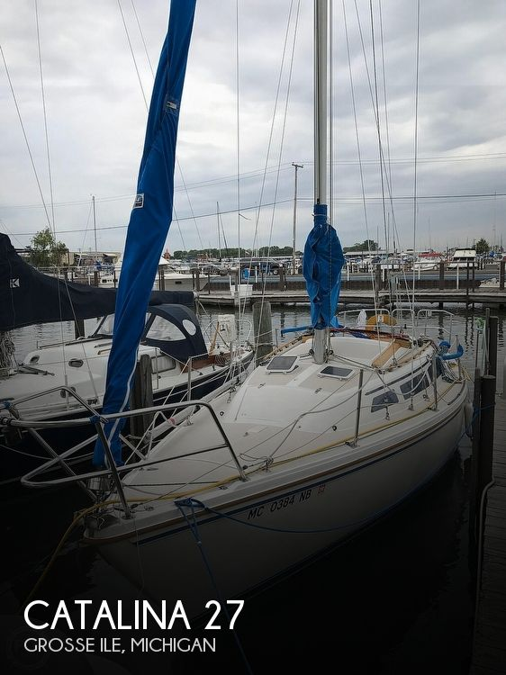 1986 Catalina Yachts boat for sale, model of the boat is 27 & Image # 1 of 40