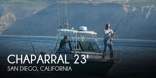 Used Chaparral Boats For Sale in California by owner | 1988 Chaparral 235 Fisherman
