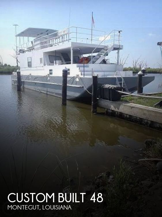 Used Houseboats For Sale in Louisiana by owner | 1985 Custom Built 48