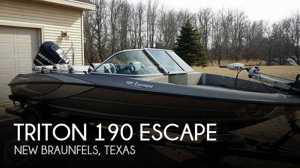 2011 Triton boat for sale, model of the boat is 190 Escape & Image # 1 of 7