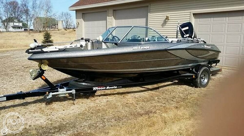 2011 Triton boat for sale, model of the boat is 190 Escape & Image # 2 of 7