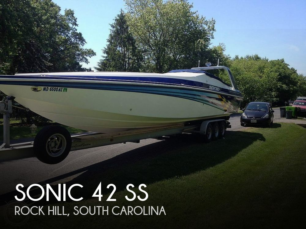 Used Boats For Sale in Charlotte, North Carolina by owner | 1999 Sonic 42 SS