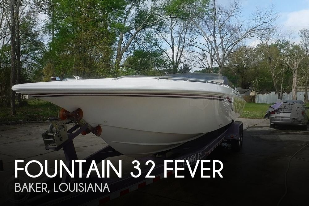 1998 FOUNTAIN 32 FEVER for sale