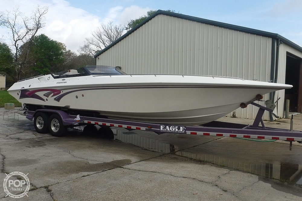 1998 Fountain boat for sale, model of the boat is 32 Fever & Image # 7 of 41