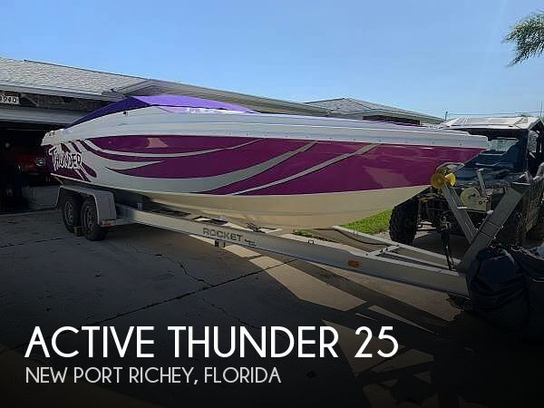 1996 Active Thunder boat for sale, model of the boat is 25 & Image # 1 of 26