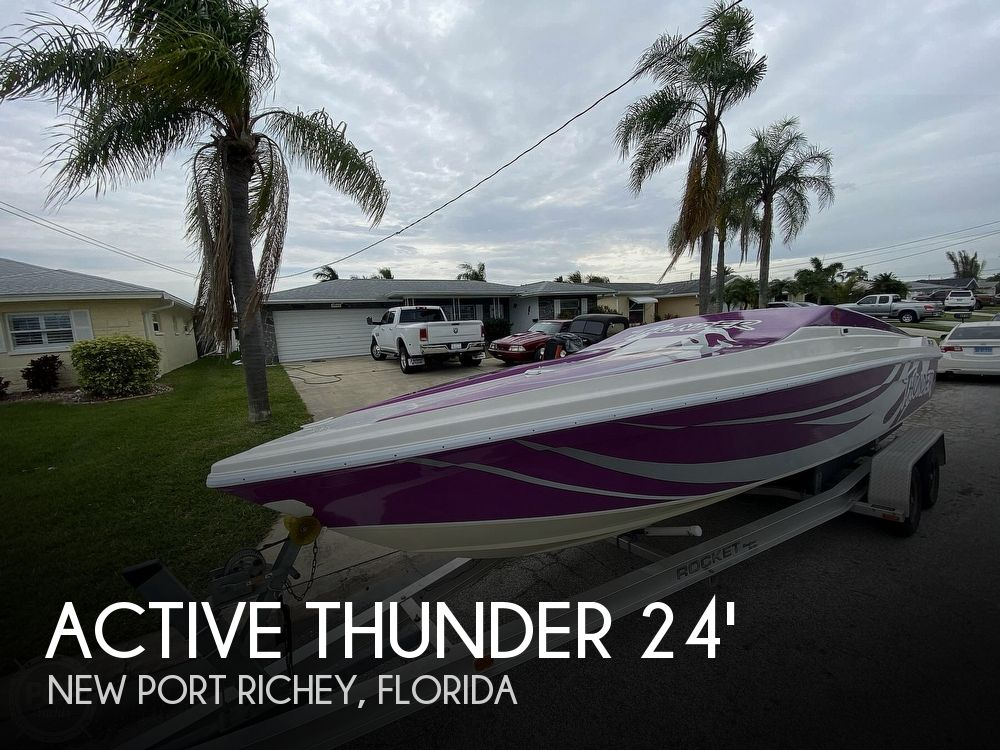 1996 Active Thunder boat for sale, model of the boat is 24 Tantrum & Image # 1 of 41