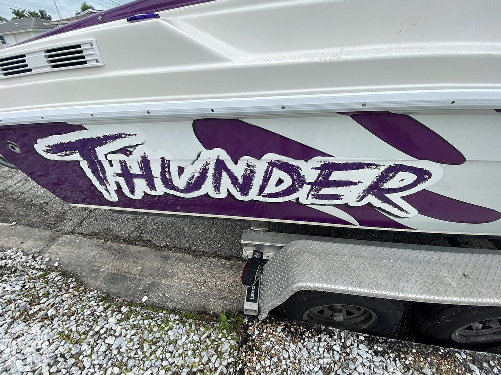 1996 Active Thunder boat for sale, model of the boat is 24 Tantrum & Image # 9 of 41