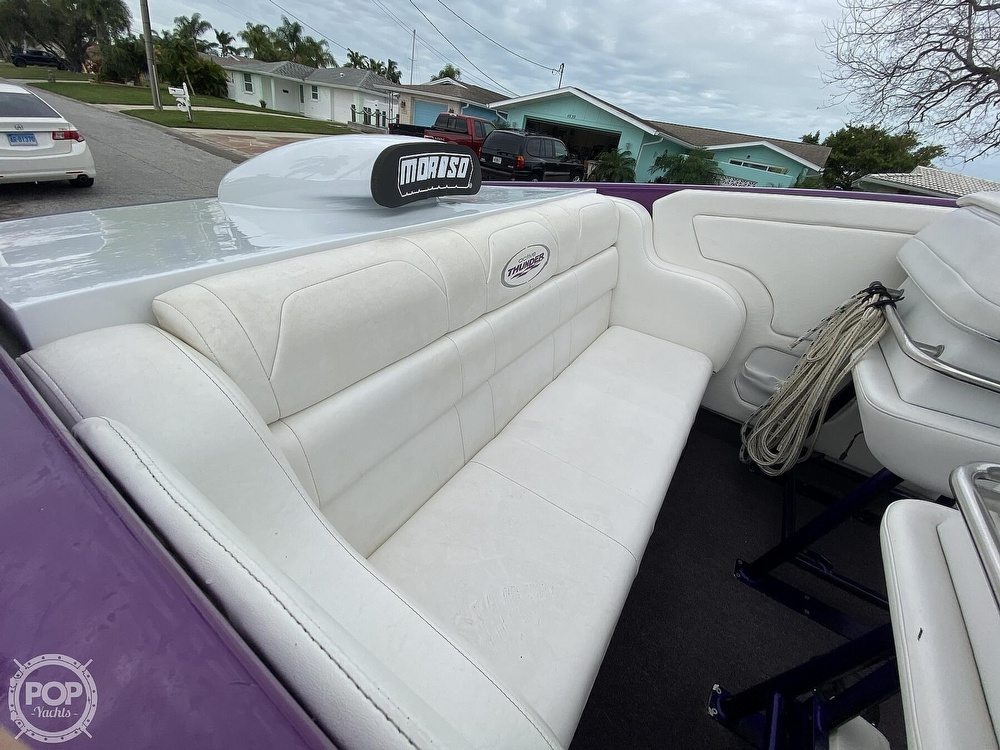 1996 Active Thunder boat for sale, model of the boat is 24 Tantrum & Image # 37 of 41