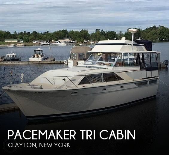 Used Motoryachts For Sale in New York by owner   1972 40 foot Pacemaker Tri cabin
