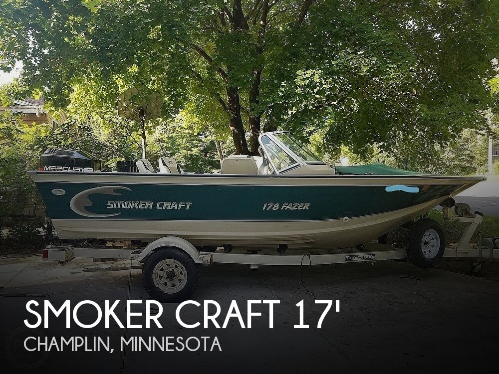 1998 SMOKER CRAFT 178 FAZER for sale