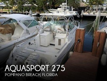 Used Aquasport Boats For Sale by owner | 2001 Aquasport 275 Explorer