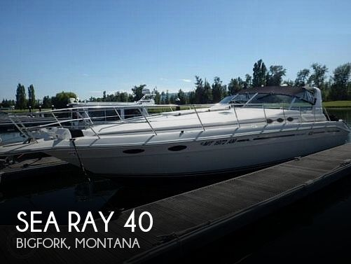 Used Boats For Sale in Montana by owner   1994 Sea Ray 40