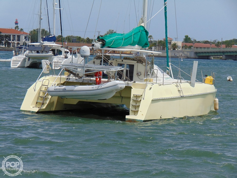 1992 Catana boat for sale, model of the boat is 40S & Image # 18 of 40