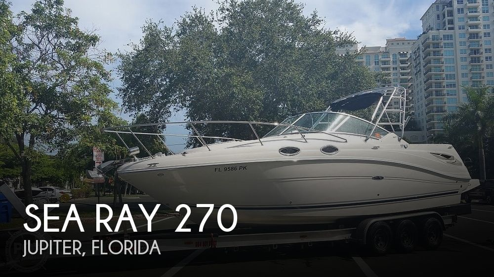 Used Sea Ray amberjack Boats For Sale by owner   2006 Sea Ray Amberjack 270