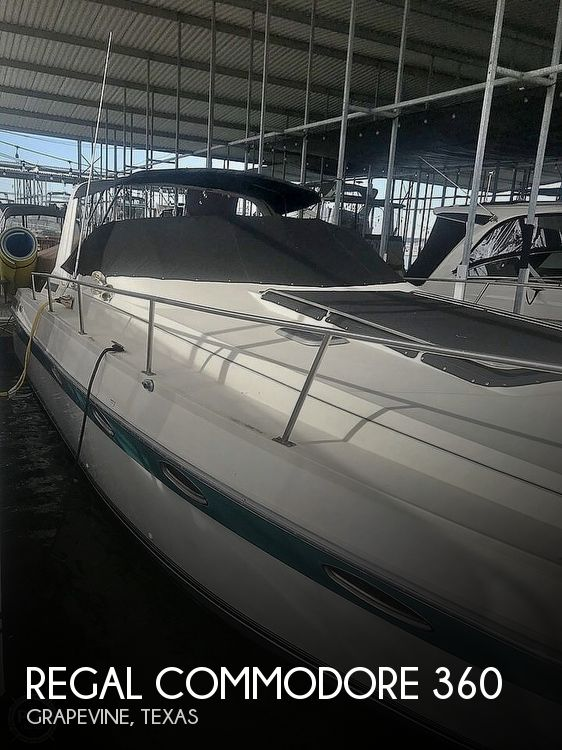 Used Regal Boats For Sale in Texas by owner | 1991 Regal Commodore 360