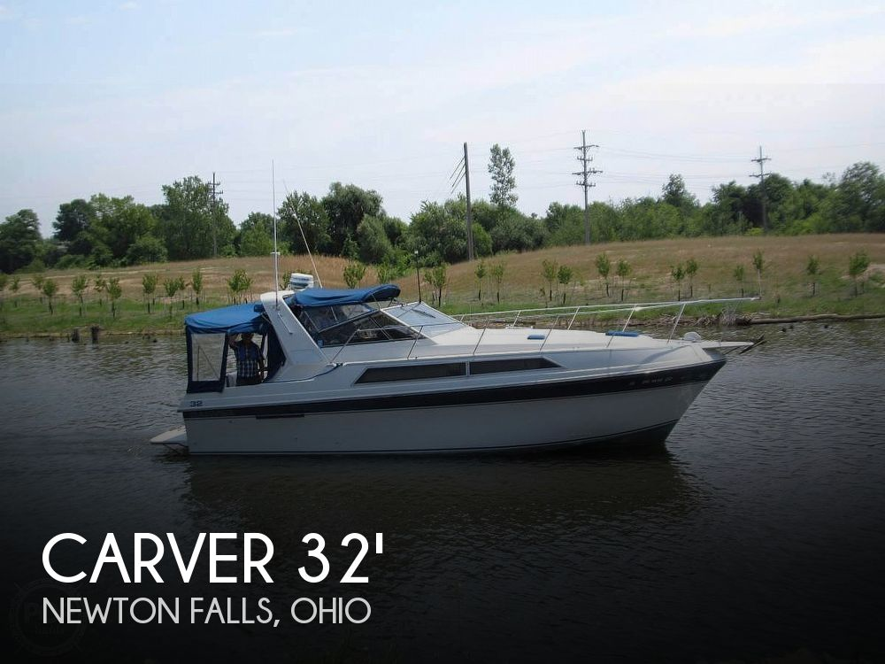 Used Boats For Sale in Youngstown, Ohio by owner | 1989 Carver 32 Montego