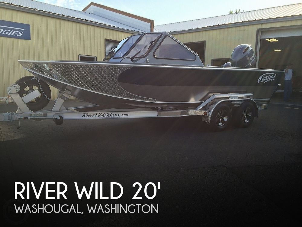 Used Fishing boats For Sale in Washington by owner | 2015 20 foot River Wild Elite Forward Helm