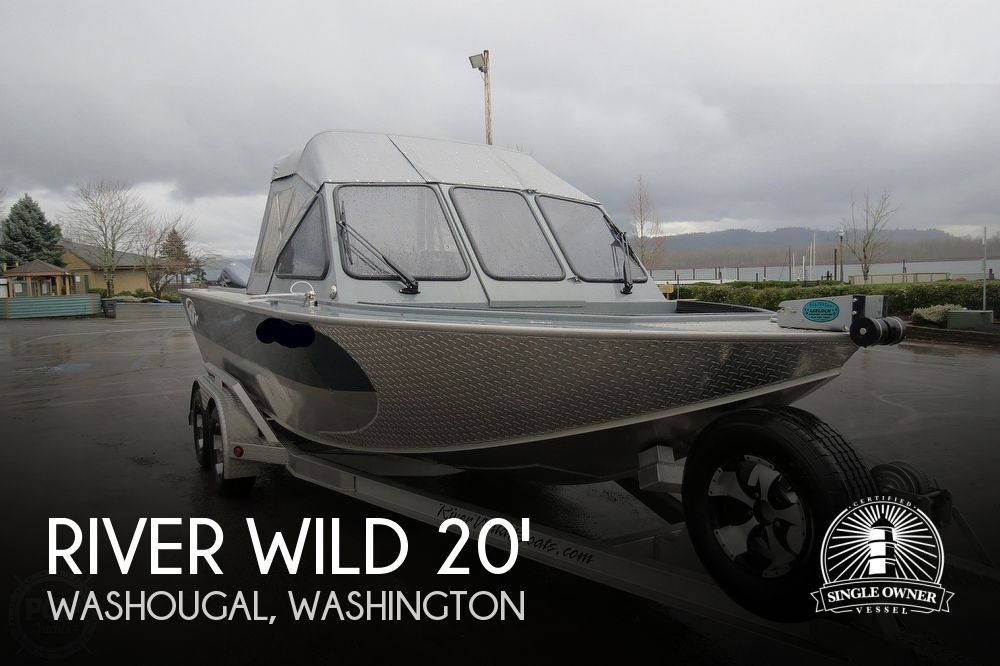 2015 River Wild boat for sale, model of the boat is Elite Forward Helm & Image # 1 of 40
