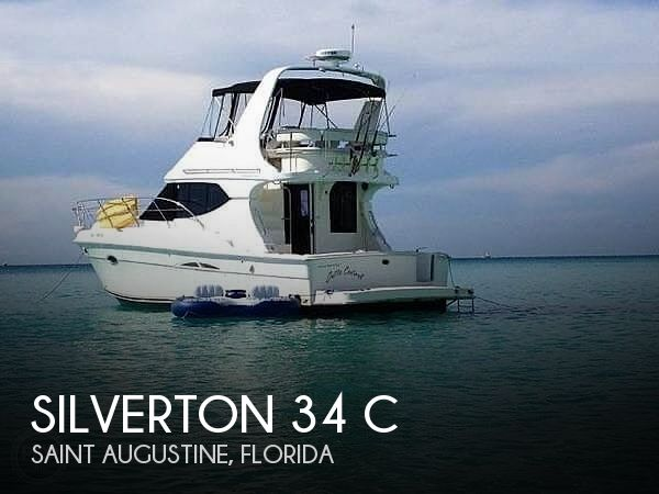 Used Silverton Boats For Sale by owner | 2006 Silverton 34 C