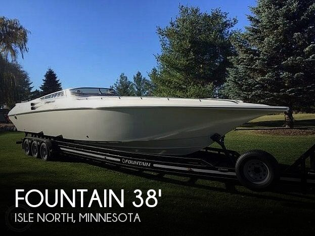 Used Boats For Sale in Minnesota by owner | 2007 Fountain 38