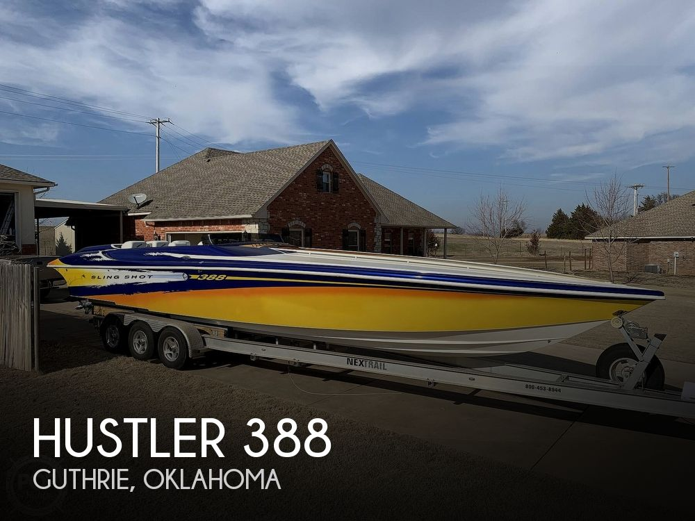 Used Boats For Sale in Oklahoma City, Oklahoma by owner | 1998 Hustler 388 Slingshot Poker Run Editio